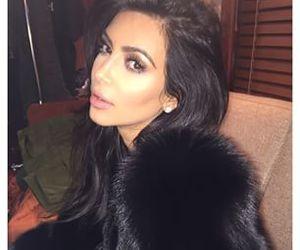 kim kardashian, kim, and makeup image