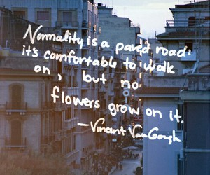 quote, flowers, and indie image