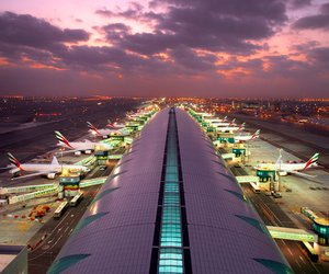 airline, airport, and beautiful image