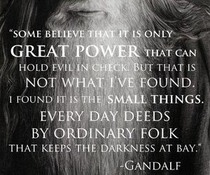 gandalf and quote image