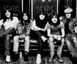 ACDC, rock, and band image