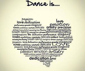 dance, love, and passion image