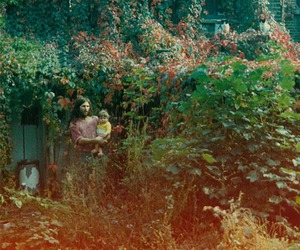 garden, outdoors, and hippie image