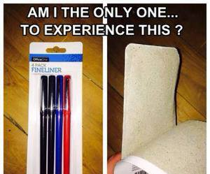 experience, pen, and funny image