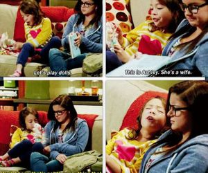 modern family, alex, and lily image