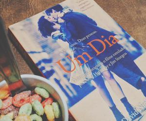 book, cereal, and livro image
