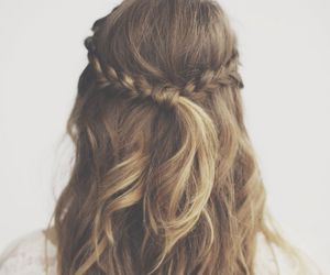 fashion, girly, and hairs image