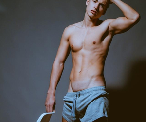 fit, guy, and Hot image