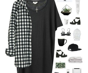 dress, grunge, and long image