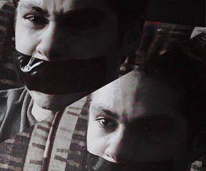angry, eyes, and stiles image