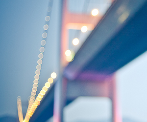 bridge, light, and photography image