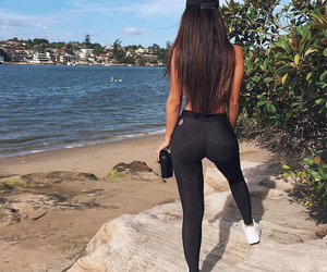 ass, motivation, and squat image