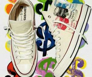 $, converse, and dollars image