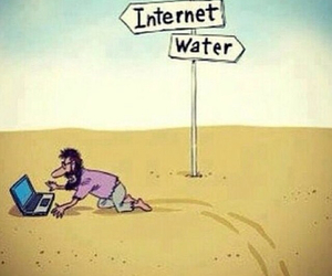 internet, funny, and water image