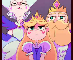 cute, star buterfly, and family~ image