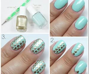 nails, tutorial, and dots image