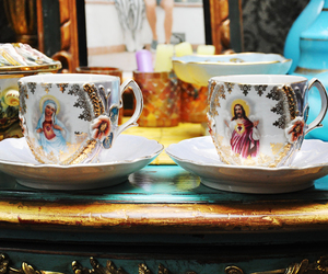 Christianity, cup, and maria image
