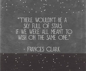 quotes, stars, and wish image