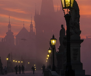 castle, night, and dark image