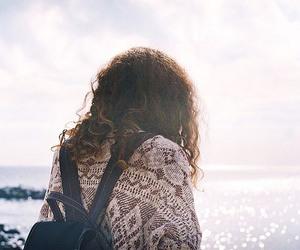 girl and sea image