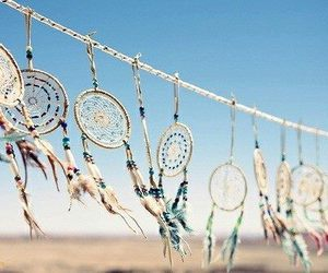 Dream, dreamcatcher, and sky image
