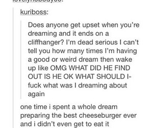 cliffhanger and Dream image