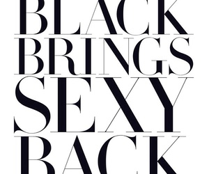 black, sexy, and quotes image