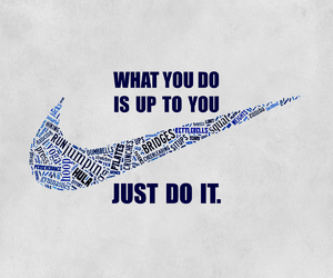 nike, quote, and Just Do It image