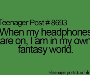 quote, music, and teenager post image