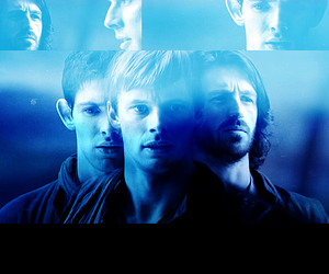 arthur, merlin, and merlin bbc image