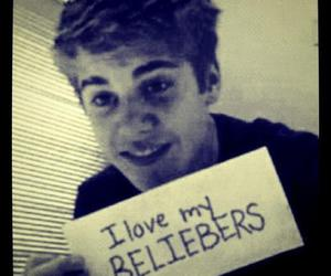 justin bieber, i love you to, and i love you justin bieber image
