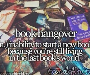 book, hangover, and fandoms image