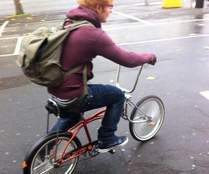 ed sheeran and bike image