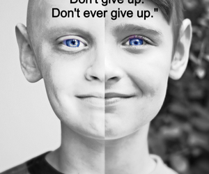 battle, cancer, and give image