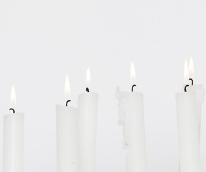 background, candle, and candle holder image