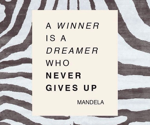quotes, winner, and dreamer image