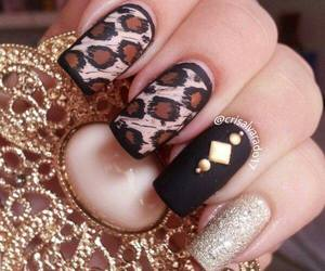 art, oriental, and nail image