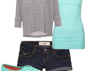 blue and shorts image