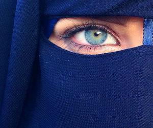hijab, islam, and niqab image