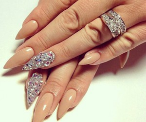 luxury, nail, and nails image