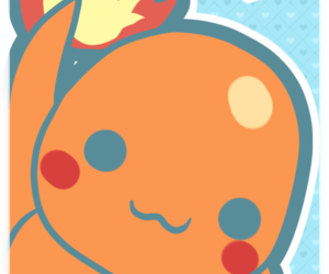 kawaii, pokemon, and ​charmander image