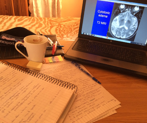 finals, MRI, and studying image