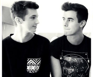 connor franta, troye sivan, and tronnor image