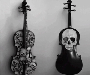 violin, black, and music image