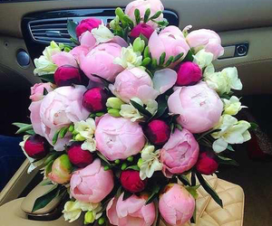 bouquet, flowers, and love image