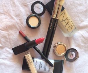 beauty, mac, and makeup image