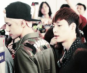 exo, lay, and sehun image