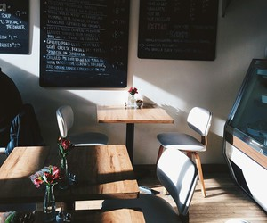 cafe, indie, and interior image