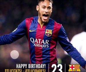 neymar, Barcelona, and birthday image