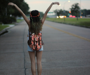 girl, hipster, and free image